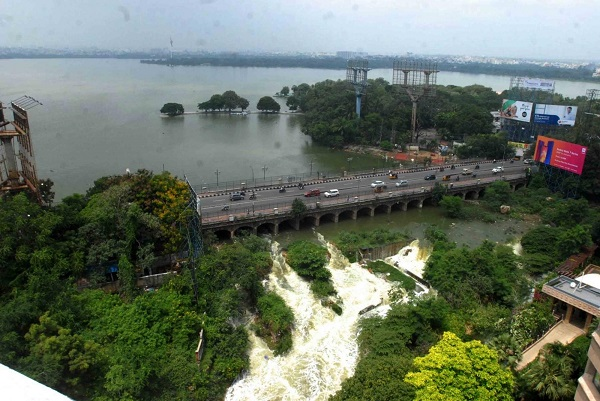 When Hussain Sagar lake became 'Jai Shri Ram Sagar' on Google Maps