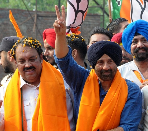 Sunny Deol campaigns for BJP candidate in Haryana
