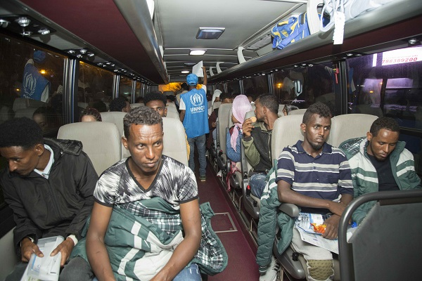 62 illegal immigrants deported by Libya