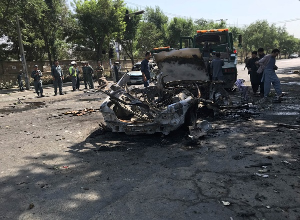 4 army personnel injured in Kabul suicide blast