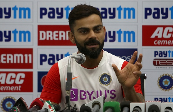 Our fast bowlers best in the world: Kohli