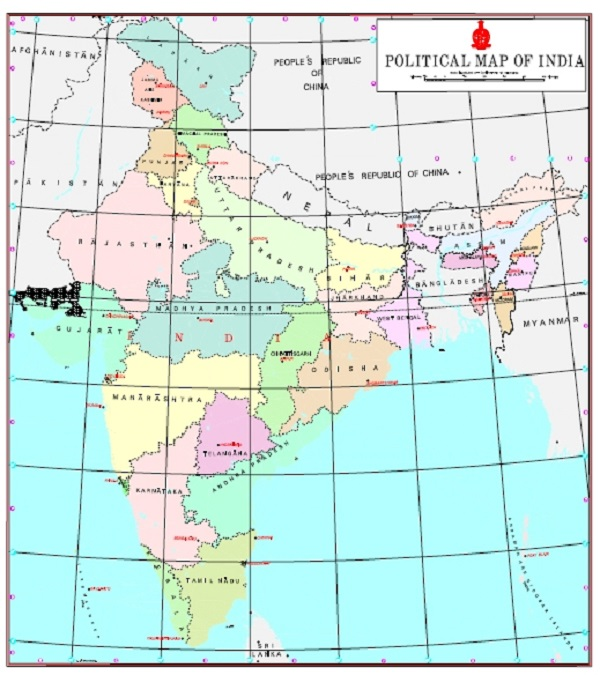 Use new political map of India: Govt to TV channels