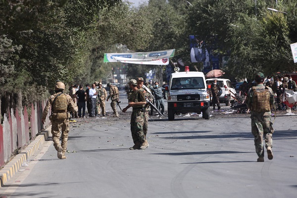 4 killed in Kabul mosque blast