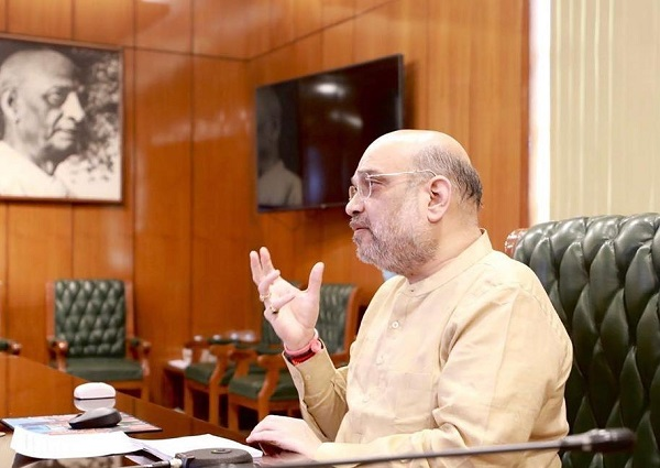 Shah chairs all-party meeting on Delhi Covid-19 situation